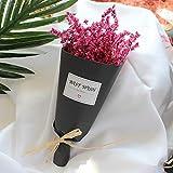 Tofree Mini-Strauß mit künstlichen Blumen, getrocknet, für Geschenk, Hochzeit, Heimdekoration, 05#, 20 * 5 * 6cm