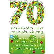 Geburtstagskarte 70 jahre kostenlos