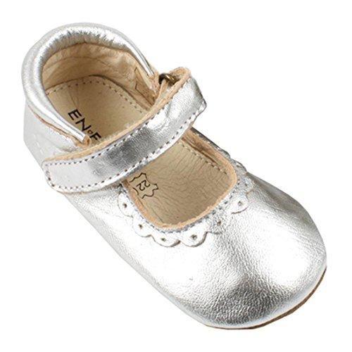 EN FANT Mary Jane basse bambine argento 22