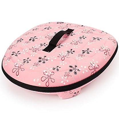 FOKOM EVA Foldable Pet Carrier Traveling Handbag Cat Dog House Cage - Pink L 2