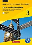 "English G Lighthouse / English G Headlight / English G Highlight - Allgemeine Ausgabe / Band 3: 7. Schuljahr - Lern- und Arbeitsheft für Lernende mit ... ""English G Headlight"", ""English G Highlight"" - Beate Lindemann, Berit Rudolph"