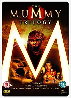 The Mummy 1, 2 & 3 Steelbook Box Set [DVD] (B001G61952) | Amazon price tracker / tracking, Amazon price history charts, Amazon price watches, Amazon price drop alerts