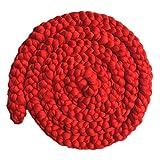 Happy Cherry Baby Fotografie Neugeborenen Fotoshooting wickeln Requisiten Woll Stretch Teppich Foto Prop-0-12 Monate-Rot
