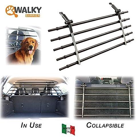 Barrière de sécurité pliable universelle pour animaux domestiques K9 Walky