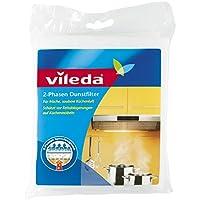 Vileda 2-Phasen Dunstfilter mit extrem hohen Fettspeichervermögen (Universalformat) - 1er Pack