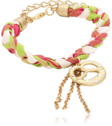 Sweet Deluxe Damen-Armband Messing Tricolor Brezn 2603