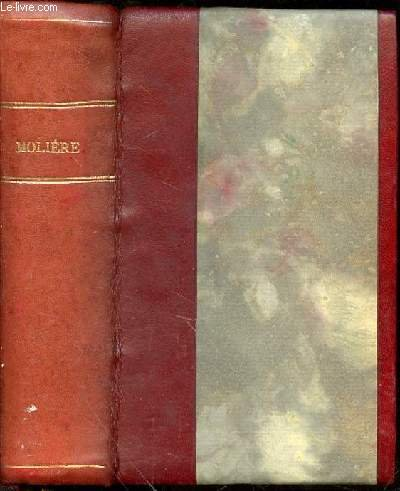 THEATRE CHOISI AVEC INTRODUCTION, BIBLIOGRAPHIE, NOTES, GRAMMAIRE, LEXIQUE ET ILLUSTRATIONS DOCUMENTAIRES PAR CH.-M. DES GRANGES - COLLECTION D'AUTEURS FRANCAIS. par MOLIERE