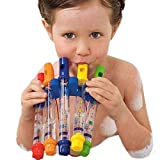 TINGSU kreatives Spielzeug Kinder Baden Dusche Badewanne Wasserflöte Pfeife Musik Spielzeug