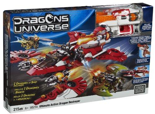 Mega-Bloks-Ultimate-Action-Dragon-Destroyer-Buildable-Playset