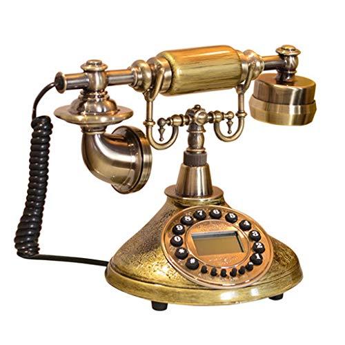 Dianhua telefono americano, soggiorno retro pratico creativo casa camera da letto comodino decorazioni