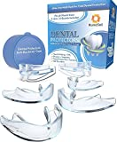 RuneSol Dental Mouth Guard for Teeth Grinding x 6 (3 Sizes) | Teeth Grind Night Guard | TMJ Tooth Guards for Teeth Grinding, Bruxism and to Stop Clenching Teeth