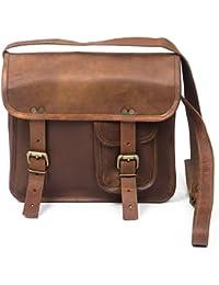 Pranjals House Real Vintage New Style Genuine Leather Messenger Bag