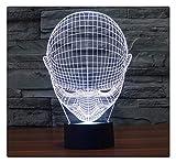 Low-Profile Neue Acryl Led Stereo 3D Nachtlicht Neue Exotische Elektronikprodukte, Fernbedienung