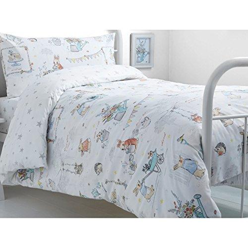 Bedlam Billy Bunny Tea Party 'Kinder Bettbezug Set, Einzelbett, Polyester-, Multi, 200x 140x 1cm (Bunny-eisen-bett)
