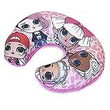 L.O.L. Surprise ! Kids Travel Pillow LOL Dolls Neck Cushion for Airplane, Super