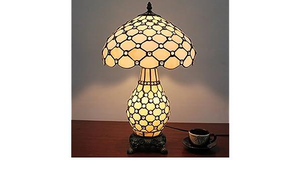 Tiffany Lampen Outlet : Hdo 12 zoll einfache weiße korn tiffany art handgemachte glastisch