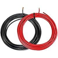 KFZ Universalkabel - FLRY Typ B - 6mm² - Set - Plusleitung - Rot und Masse - Schwarz je 5 Meter ( 3,78 € pro Meter )