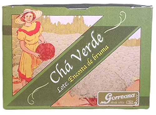 Preisvergleich Produktbild Pack 3 Portugiesisch Green Tee Encosta de Bruma Gorreana Azoren (Portugal) - 3*80 Gramm