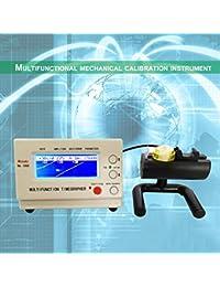 Mecanismo de reloj mecánico Timegrapher Reloj Máquina de sincronización Herramientas de reparación del equipo de prueba (Color: blanco)