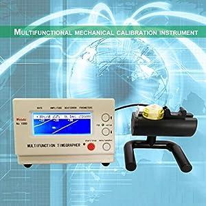 Mechanische Uhr Tester Timegraph Uhr Timing Maschine Tester Reparatur Werkzeuge (Farbe: weiß)