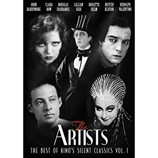 The Artists: The Best Of Kino's Silent Classics Vol. 1 [METROPOLIS, BLOOD & SAND, THE THIEF OF BAGDAD, IT, DR. JEKYLL & MR. HYDE, BROKEN BLOSSOMS, THE GENERAL] by Rudolph Valentino