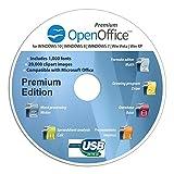 Open Office Special Edition CD DVD 100% kompatibel zu Microsoft® Word® und Excel®