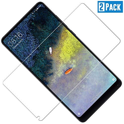 TOCYORIC Protector de Pantalla para Xiaomi Mi Mix 2/ Mi Mix 2s, [Dureza 9H] [Anti-Arañazos] [Sin Burbujas] Cristal Vidrio Templado Premium para Mi Mix 2/ Mi Mix 2s, 2 Unidades