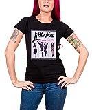 Photo de Little Mix T Shirt Glory Days album logo officiel Femme Skinny Fit Noir par Little Mix