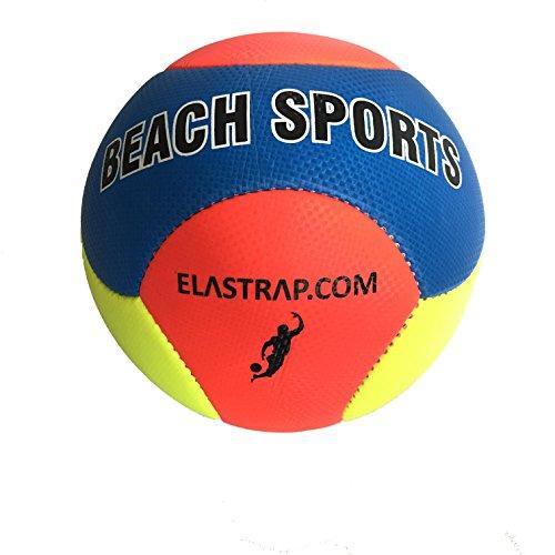 elastrap Ballon de Plage Beach Sport - Balle de Plage Gonflable - Jeux Loisirs Sport - Piscine Mèr Plage Sable - Léger - Bonne qualité - Enfants et Adultes