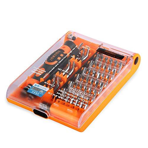 JAKEMY Schraubenzieher Set 52in 1Modell und Elektronik Werkzeug Set Professional Repair Handwerkzeuge-Kit für Handy Computer Elektronische Modell DIY Reparatur jm-8150