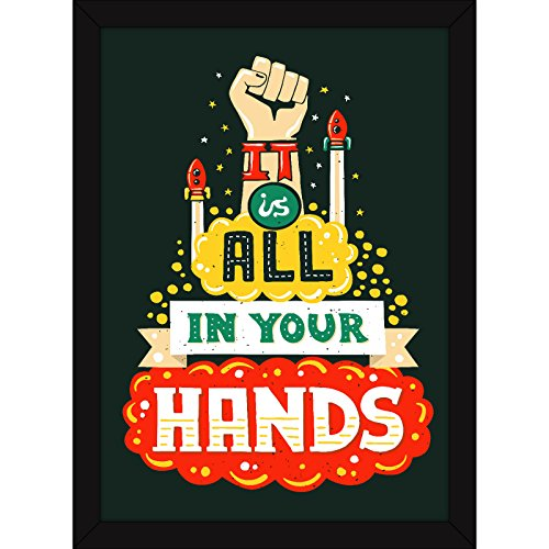 motivational posters for office and home it s in your hands
