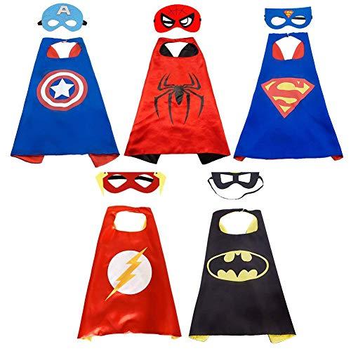 Super Héros Halloween Costumes pour Enfants Cadeaux...