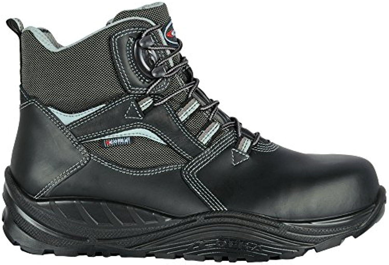 Cofra 40-55230001-45 - Seguridad Botas Shoden S3 Ci Src Maxi Confort 55230-001 altos zapatos, Negro, Tamaño 45