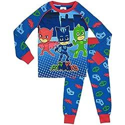 PJ Masks - Pijama para Niños - PJ Masks - Ajuste Ceñido