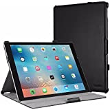 EasyAcc iPad Pro 12.9 Inch PU Leather Smart Case Book Cover Flip with Stand / Auto Sleep Wake-up for iPad Pro 12.9 Inch (Premium PU Leather, Black)