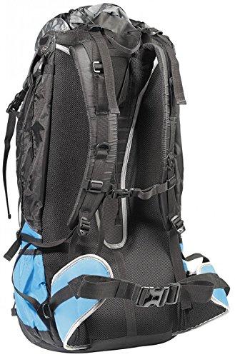 Sac à dos trekking professionnel avec structure en aluminium, 80 L