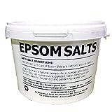 EPSOM SALT for Horses   3KG BUCKET   100% Natural   Equine   FCC Food Grade   Magnesium Sulphate