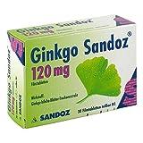 Ginkgo Sandoz 120 mg, 30 St. Tabletten