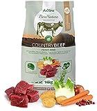 AniForte Natürliches Hunde-Futter Trockenfutter Country-Beef 14kg, Saftiges Feines Rind-Fleisch, 100% Natur Allergiker, Getreide-Frei, Glutenfrei, mit Kartoffeln, Ohne Chemie und künstliche Vitamine