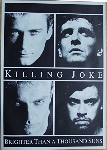 Killing Joke Poster Format 62 x 86 cm Original von 1986 (Poster 1986)