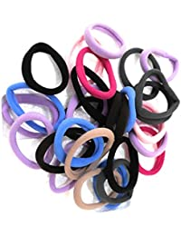Shri sai Combo of 26 pieces Ponytail Hairbands for girls & women