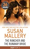 Front cover for the book The Rancher and the Runaway Bride Part 1 (36 Hours) by Susan Mallery