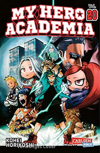 My Hero Academia 20: Die erste Auflage immer mit Glow-in-the-Dark-Effekt auf dem Cover! Yeah!