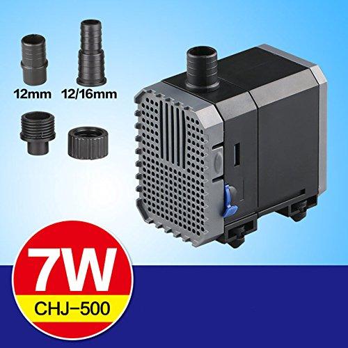 SunSun CHJ-500 Eco Aquariumpumpe Filterpumpe 500l/h 7W Pumpe Aquarium Filter