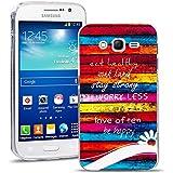 Samsung Galaxy Grand Neo Plus Funda, FoneExpert® Carcasa Cover Case Funda de gel TPU silicona Para Samsung Galaxy Grand Neo Plus i9060 / Galaxy Grand Neo + Protector Pantalla (Eat healthy)