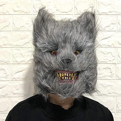Halloween Mask Scary Animal for Men Women Adults Kids Children, Novelty Halloween Costume Party (Beängstigend Adult Masken)