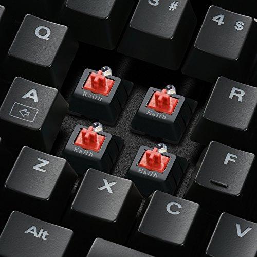 Sharkoon Skiller Mech SGK2 Red Mechanische Gaming Tastatur (mit weißer Beleuchtung, rote Schalter, TKL, Tenkeyless) schwarz - 3