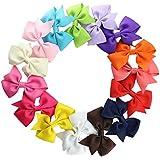 15 Piezas Pinza De Pelo Para Las Niñas Chicas Clip De Pelo Multicolor Horquilla De Arco Para Muchachas