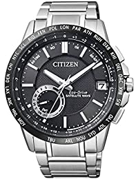 Citizen Herren-Armbanduhr Satellite Wave Analog Quarz Edelstahl CC3005-51E