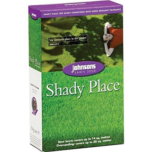 Johnsons 46607 Shady Place Semences de gazon pour terrain ombragé 500 g